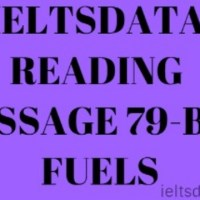 IELTSDATA READING PASSAGE 79-BIO FUELS