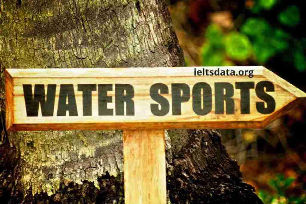 Water Sport Speaking Part 1 Questions With Answers