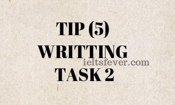 TIP (5) WRITTING TASK 2