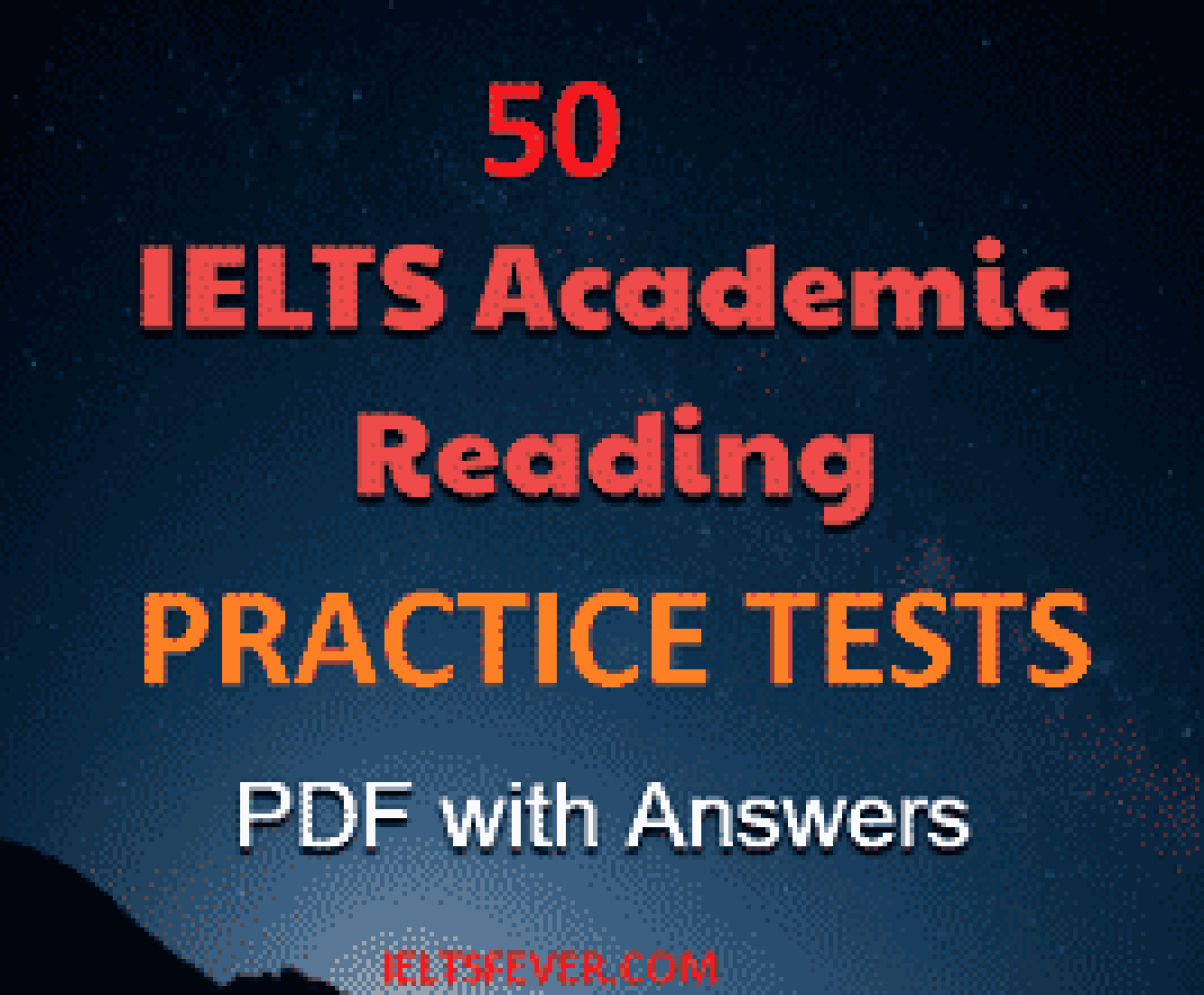 academic reading practice test with answers free PDF 50 test files part 1 reading practice test pdf ielts exam