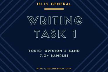 ielts-general-writing task 1