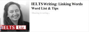 IELTS Writing Linking Words