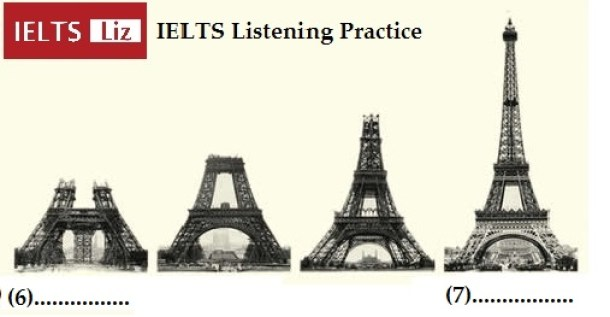IELTS Listening Eiffel Tower