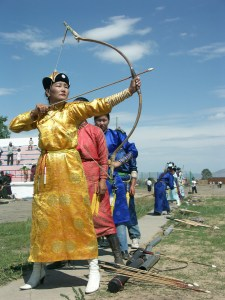 Naadam_women_archery