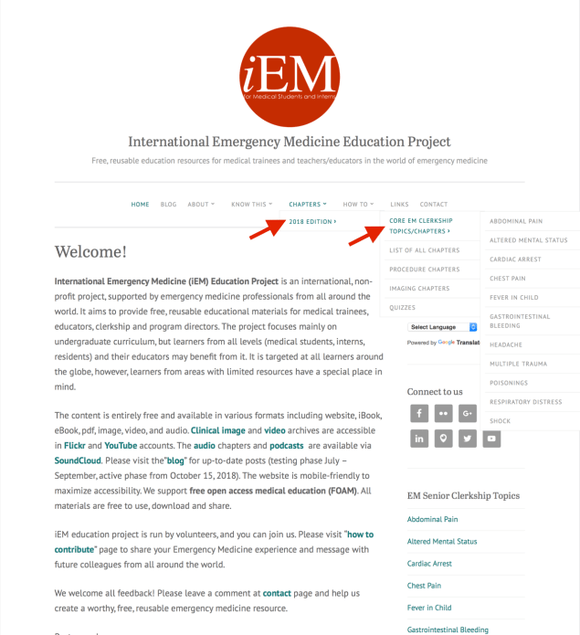 International Emergency Medicine Education Project - SoundCloud Account