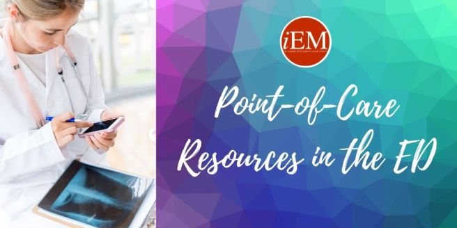 Point-of-Care Resources in the ED