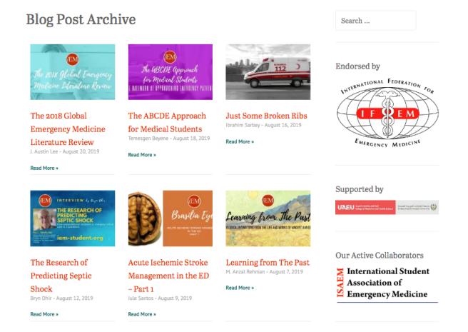 blog Posts archive