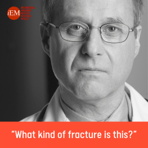 """What kind of fracture is this?"""