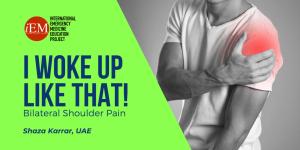 bilateral shoulder pain