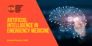 Artificial Intelligence in Emergency Medicine