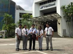 NAT Steel visit 2016