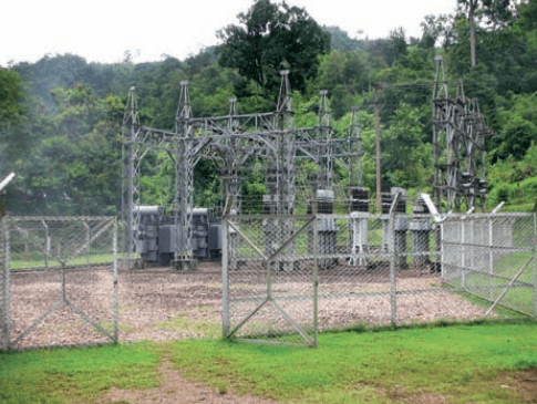 Step-up substation