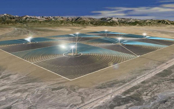 CHINA'S LARGEST SOLAR THERMAL POWER PLANT SO FAR