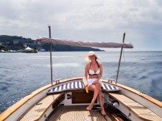 Å utforske Amalfi fra sjøsiden en glohet dag var et godt valg.