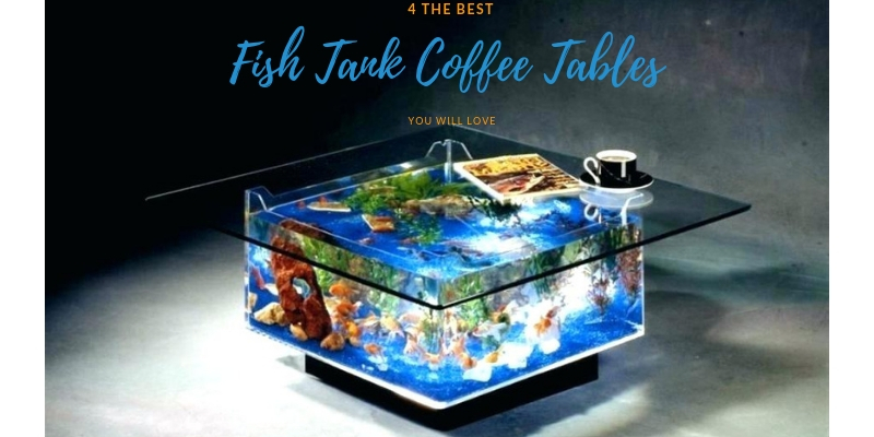 4 best fish tank coffee tables you will
