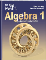 BIM Algebra I Textbook cover