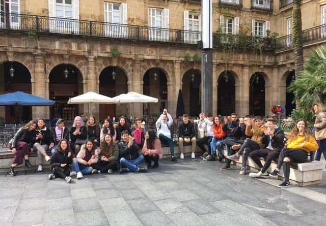 Salida de Geografía a ver el urbanismo de Bilbao