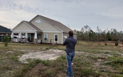 Estimating Interior Water Damage | Behind Enemy Lines in Panama City, Florida