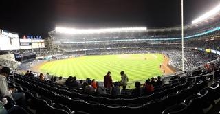 Le stade des Yankees