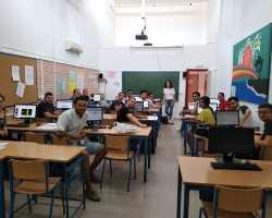 Charlène la nueva profesora Auxiliar de Francés