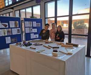 Exposición de instrumentos musicales creados por el alumnado de 2º ESO