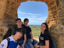 alumnos en Agrigento