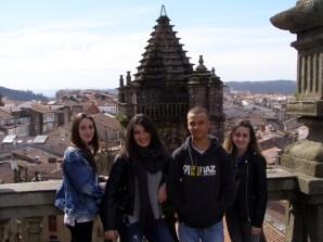 Visita a Santiago: Alumnado de Historia da Arte