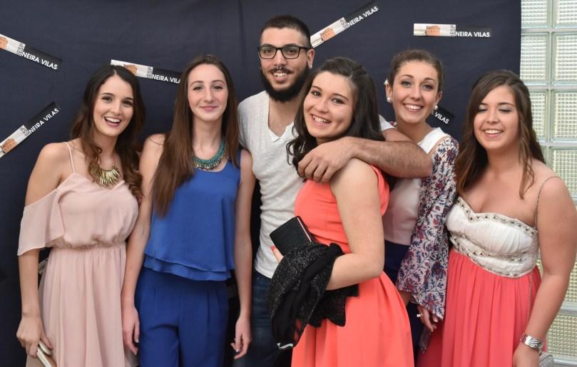 Irea, Maite, Tiago, Nuria, Laura, Dámaris