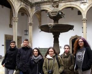 Visita a Santiago Alumnado de Historia da Arte