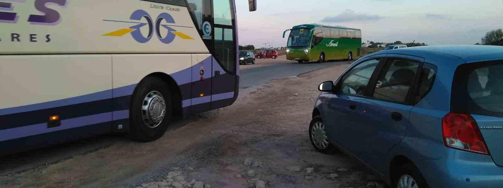 Problemas con el acceso al IES Playa Flamenca