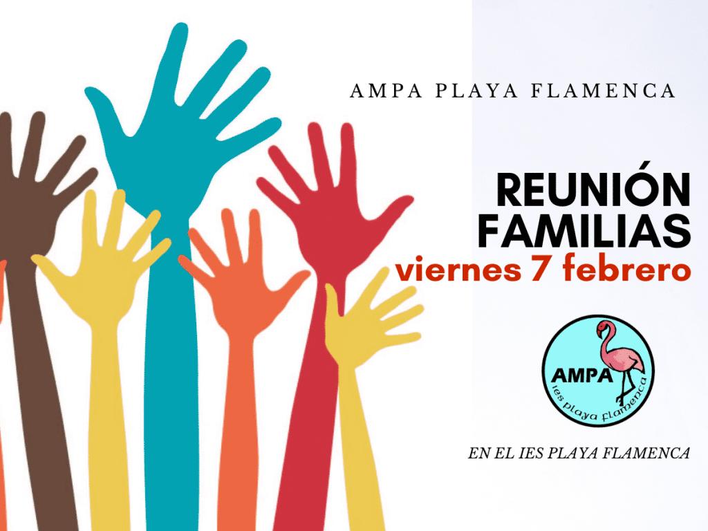Reunión de familias AMPA 7 febrero