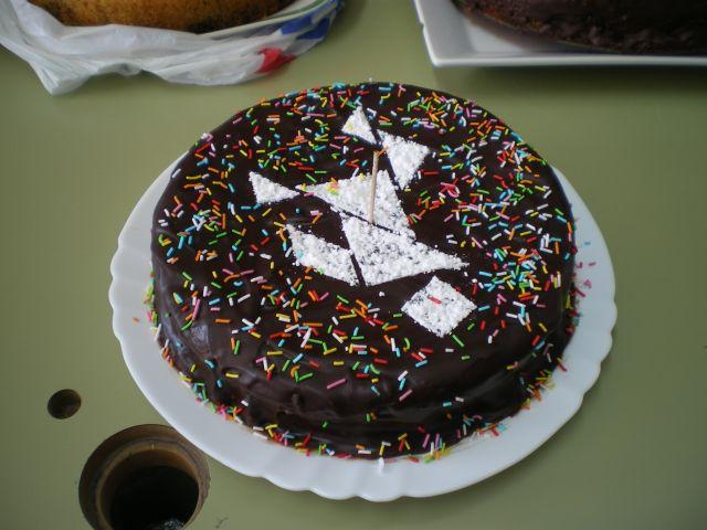 3premio tarta de chocolate con tangram