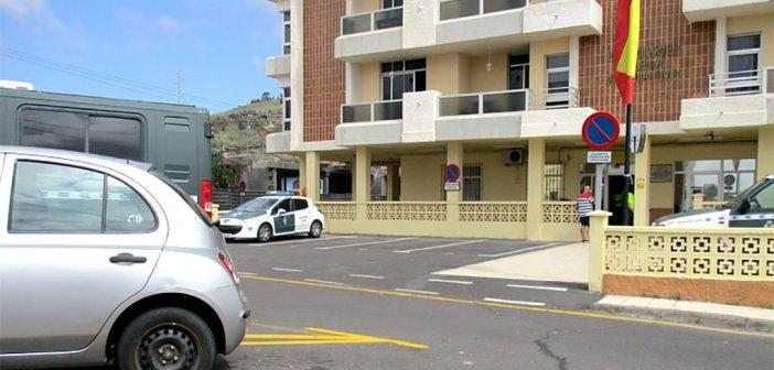 Гражданская гвардия чем-то насолила пожилому жителю Granadilla de Abona