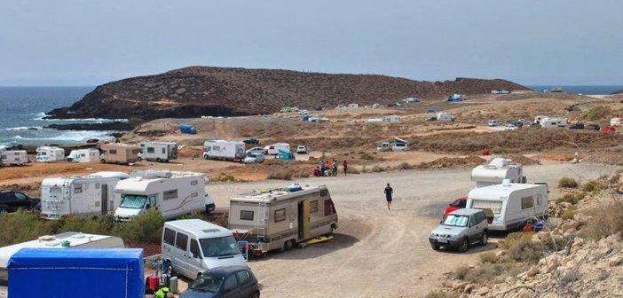 Arona: убрали с побережья более трех десятков нелегальных кемпингов
