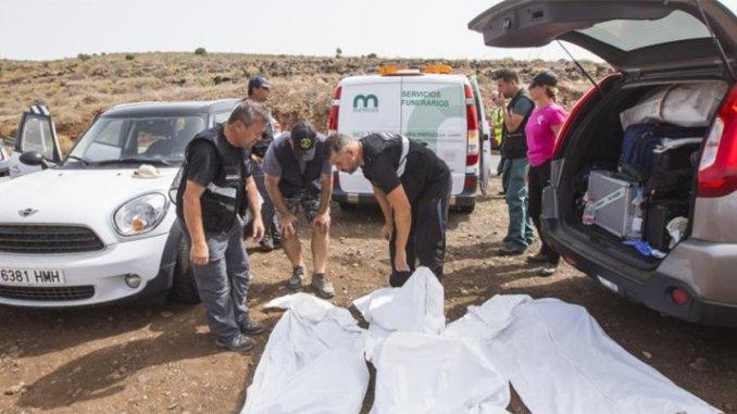 На Gran Canaria случайно нашли останки пары, пропавшей пять лет тому назад