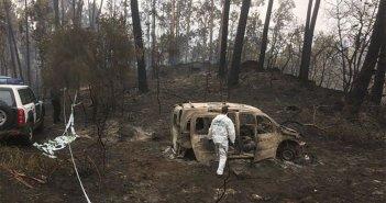 Пожары в Галиции: тысячи сожженных гектаров и четверо погибших