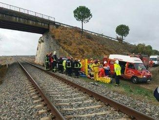 Более двадцати раненых при аварии поезда на юге Испании