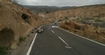 Мёртвый велосипедист и раненый мотоциклист в лобовом столкновении в Granadilla