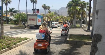 Реквизированы несколько электрических транспортных средств на юге Тенерифе