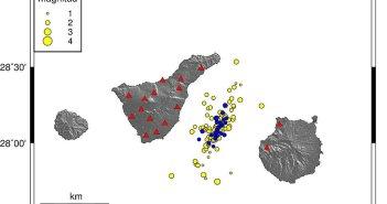 С 29 апреля сейсмический рой на островах уже превышает 250 землетрясений