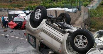 Арестован после учинённой аварии на украденном автомобиле на севере Тенерифе