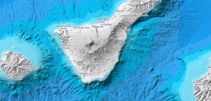 IGN регистрирует землетрясение в 2 градуса по шкале Рихтера под Teide