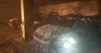Огонь в гараже в Punta del Hidalgo затронул 11 автомобилей и 3 мотоцикла