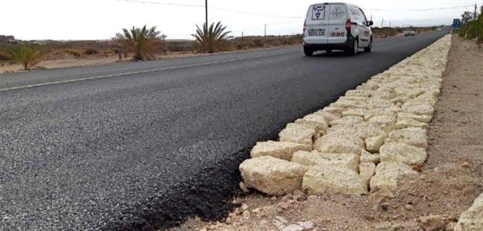 Новые проблемы в старом исполнении на дороге из San Isidro в El Médano