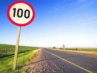 Все знаки ограничения скорости на дорогах изменят в понедельник