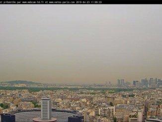 Пыль из Сахары испортила воздух во Франции