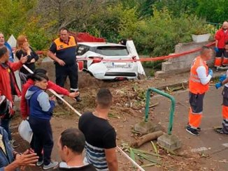 Трагедия во время проведения ралли на острове Тенерифе