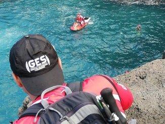 Возобновлены поиски мужчины, упавшего вчера в океан в Puerto de la Cruz