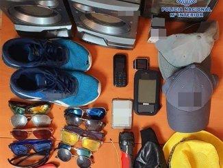 Вещи на виду: арестован за кражу в 25 автомобилях в Playa de las Americas