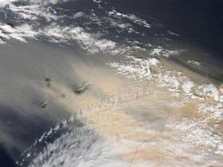Тенерифе: пассаты начинают прогонять калиму и очищать небо над островом